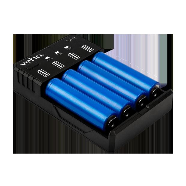 V 1 Usb Rechargeable 5v 2a Battery Charger Veho